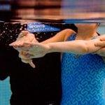 underwater swimming instruction